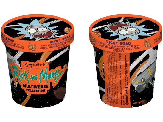 """Morgenstern's Finest Ice Cream and 'Rick & Morty' Crafts a """"Multiverse Collection"""""""