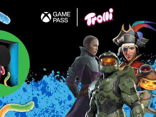 Trolli Celebrates Xbox's 20th Anniversary With Limited-Edition Game Packaging