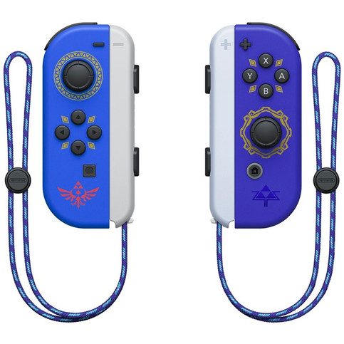 First Look at the Special Edition 'Legend Of Zelda: Skyward Sword' Switch Joy-Cons