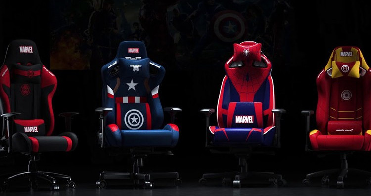 AndaSeat Partners With Disney Marvel's Avengers on a Series of Gaming Chairs