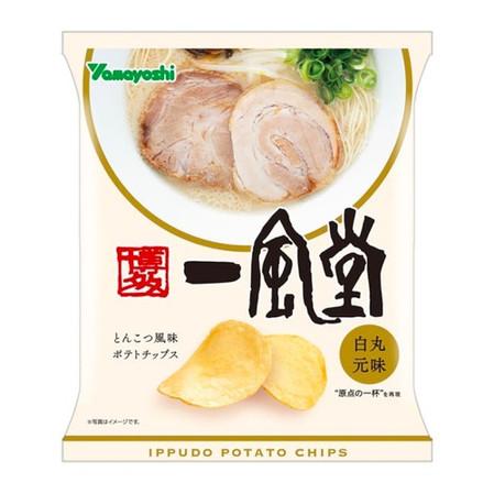Gamer Eats: Ippudo Rolls Out Tonkotsu Ramen-Flavored Potato Chips