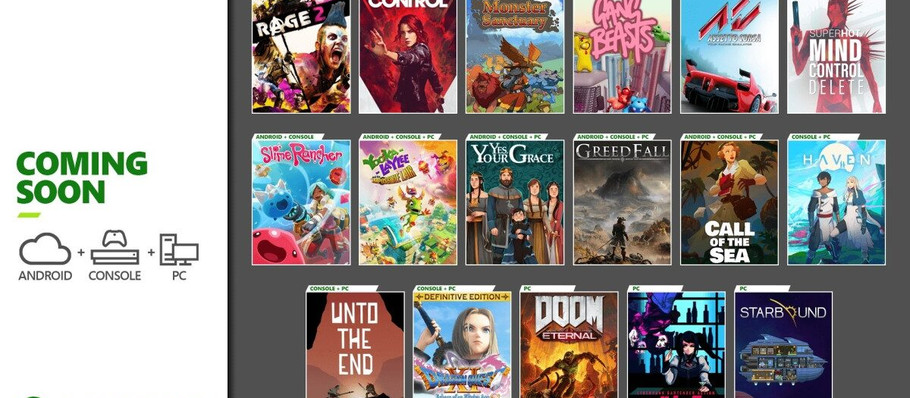 Xbox Game Pass is Finally Adding Control and More in December