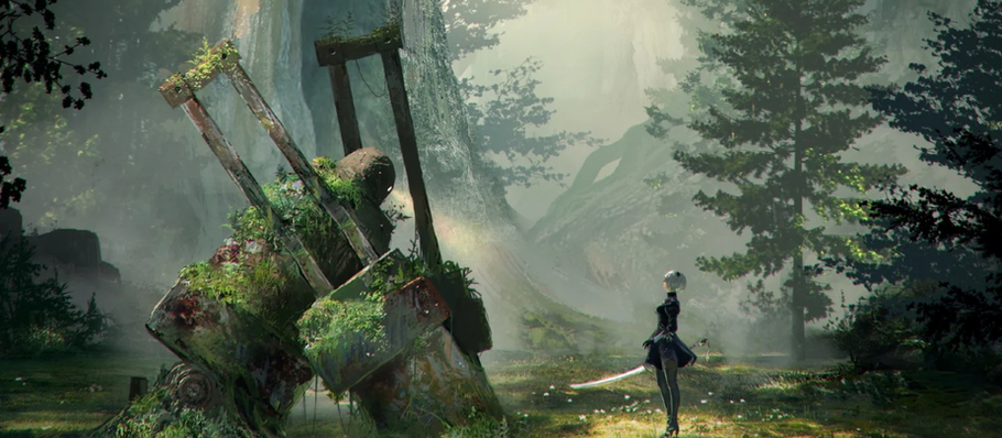 Secret NieR Automata Cheat Code Skips the Entire Game