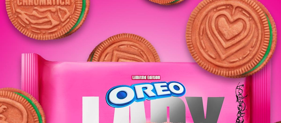 Lady Gaga and Oreo Release Pink and Green 'Chromatica' Cookies
