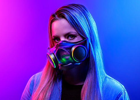 You Can Now Buy Razer's Zephyr Face Mask for $100 USD