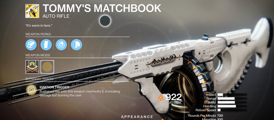 Destiny 2: Season of the Worthy – How to get the Tommy's Matchbook Exotic Auto Rifle