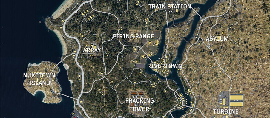Here's a look at the Call of Duty: Black Ops 4 Blackout map ahead of beta