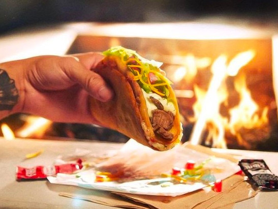 Taco Bell Holds a Trial Run for New Fajita Quesalupa