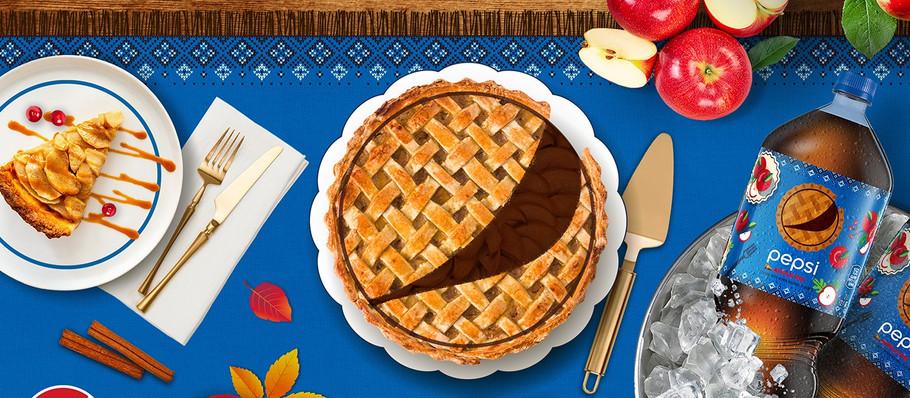 "Pepsi Cinnamony ""Apple Pie"" Cola for Thanksgiving Day"