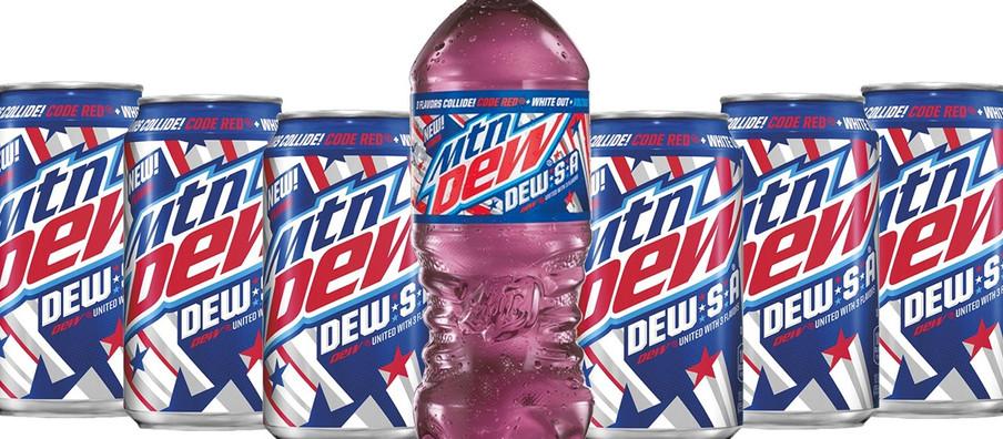 "Gamer Eats: Mountain Dew's Patriotic ""DEW-S-A"" Flavor"
