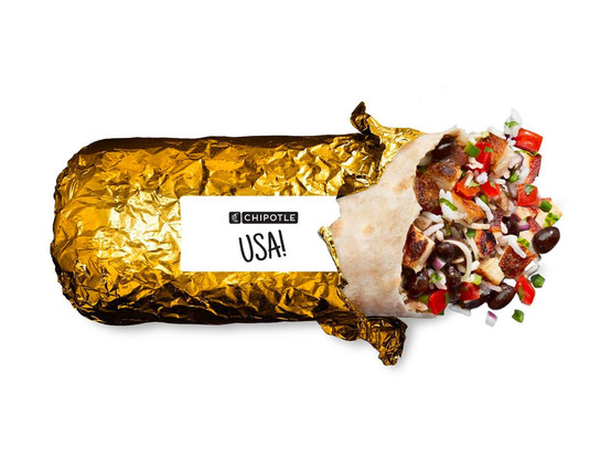 Gamer Eats: Chipotle Drops Limited Edition Gold Wrapped Burritos
