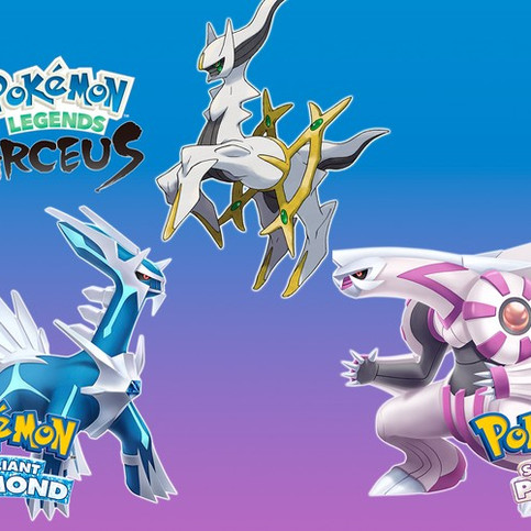 Pokémon Officially Announces 'Brilliant Diamond and Shining Pearl' Remakes and 'Legends: Arceus' Gam