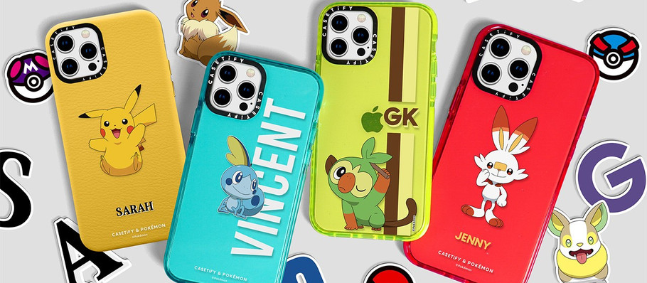 CASETiFY and Pokémon Focus on Galar Region With Latest Collaboration