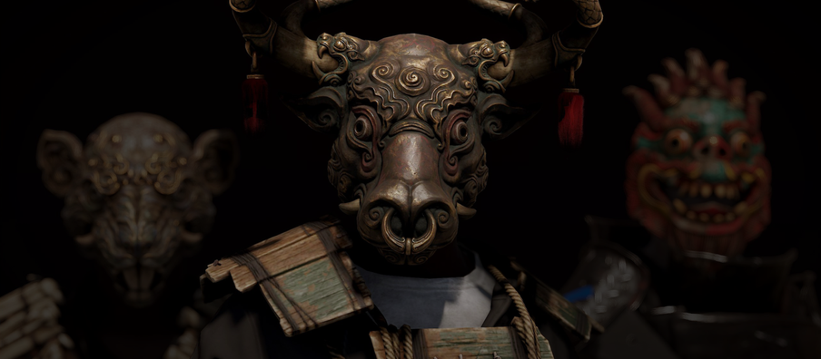 Rust Lunar New Year 2021 Additions Include Metal Ox Mask