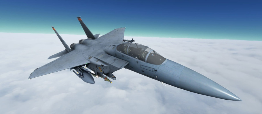 You Can Soon Fly an F-15 Fighter Jet on 'Microsoft Flight Simulator'