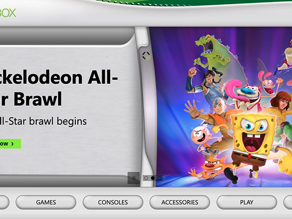 Miss the Xbox 360's blades? Well they're back… on the Xbox website