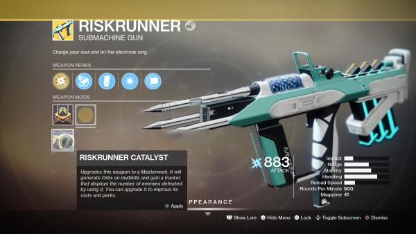 Destiny 2: Shadowkeep – How to get the Riskrunner Exotic SMG