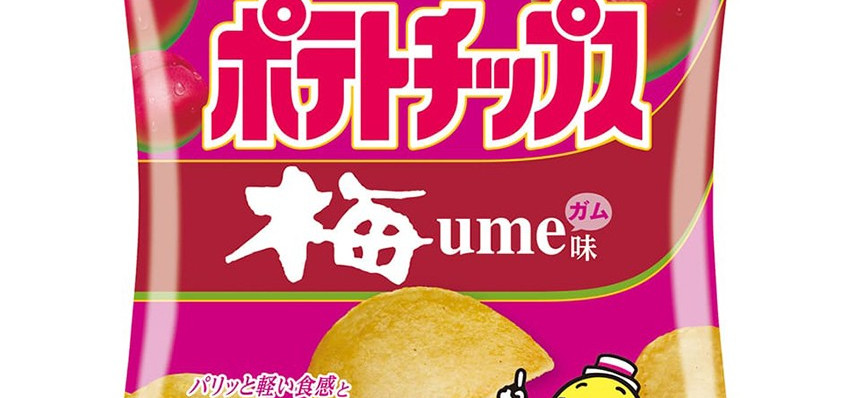 Gamer Eats: Would You Try Blueberry and Ume Gum-Flavored Potato Chips?