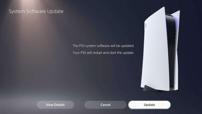 First PS5 beta includes access to M.2 SSD slot and 3D audio support for TV speakers