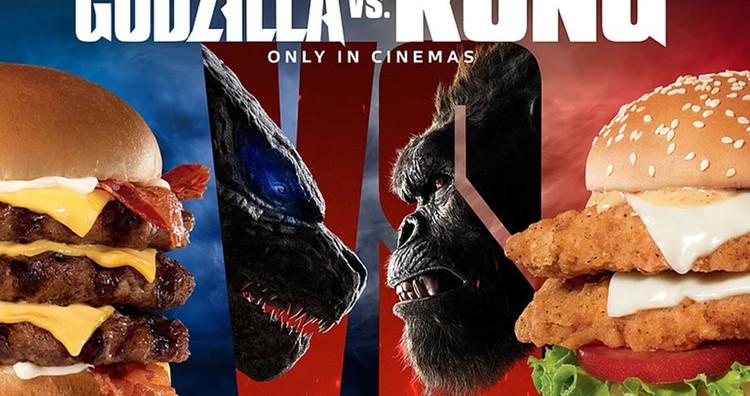 Gamer Eats: Carl's Jr. and Hardee's Introduce Godzilla and King Kong-Inspired Burgers