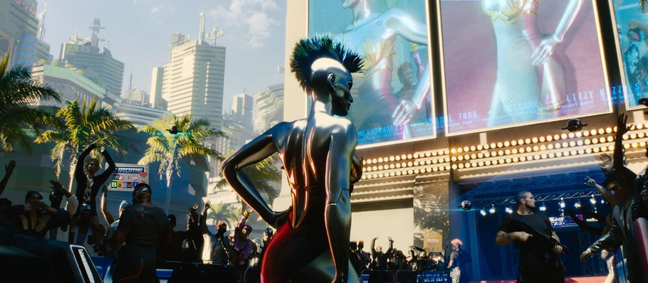 Grimes leaks her character's backstory in Cyberpunk 2077