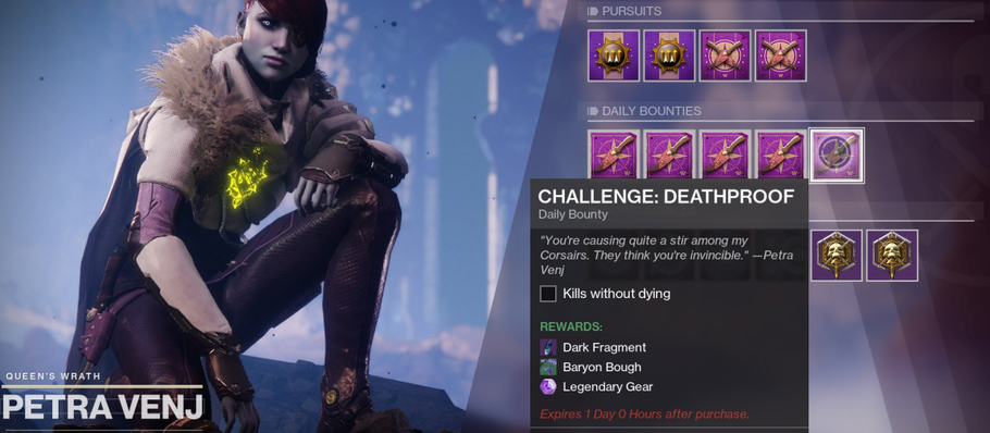 Destiny 2 – Challenge: Deathproof guide