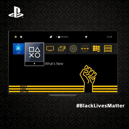 A Black Lives Matter Theme is Now Available on PS4