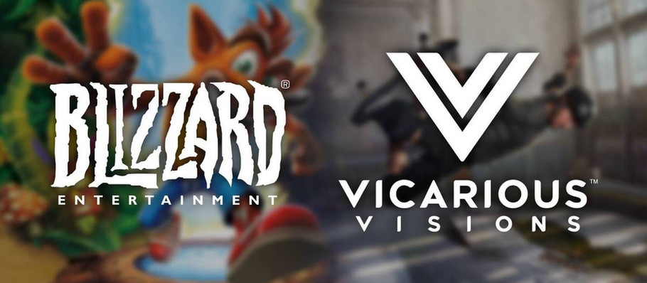 Blizzard And Vicarious Visions Merged by Activision