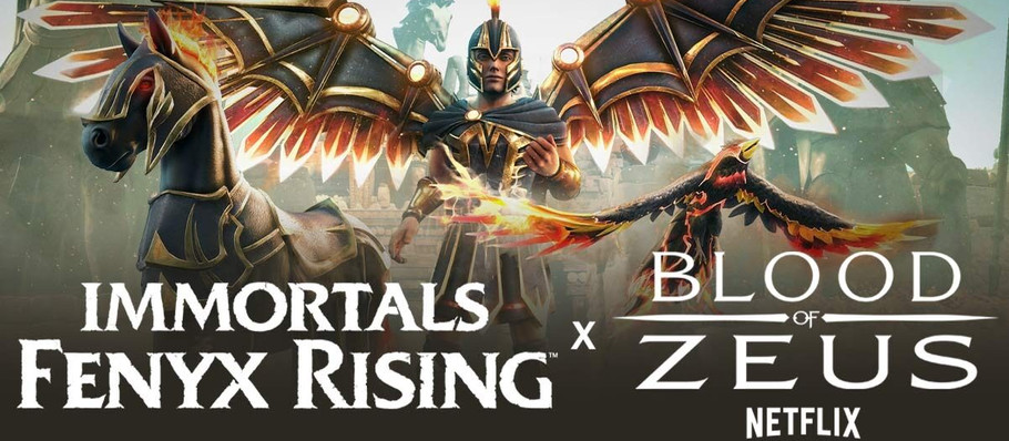 Immortals Fenyx Rising is Getting a Crossover With Netflix's Blood of Zeus