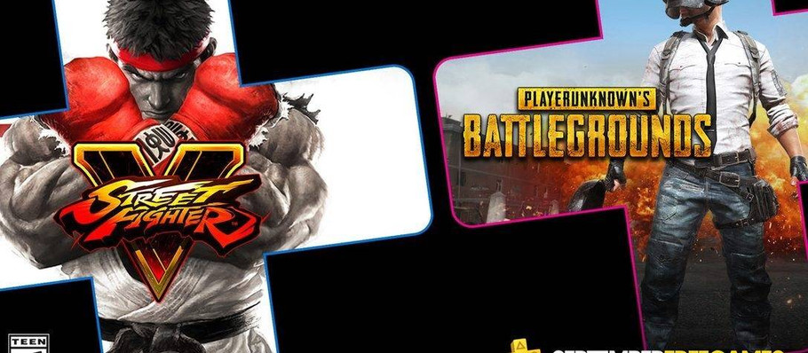 PUBG' and 'Street Fighter V' Is Free for PlayStation Plus Members in September