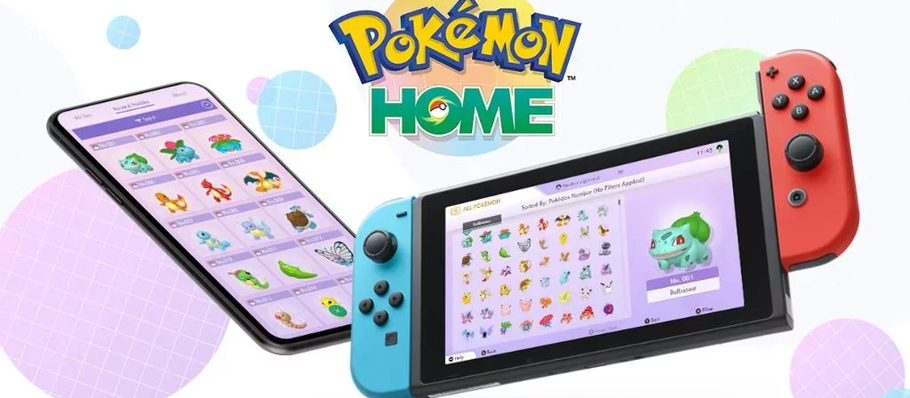 Pokemon Home now available for mobile and Switch
