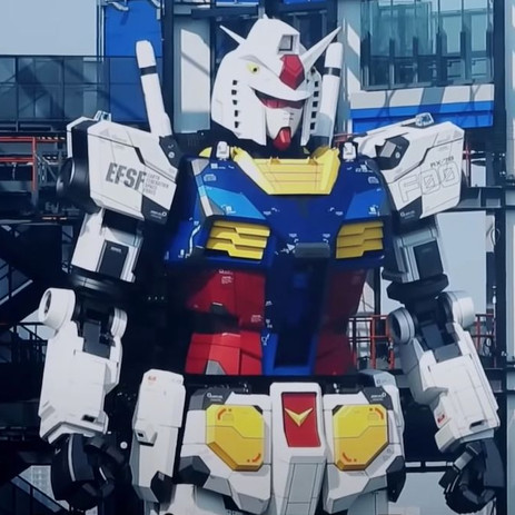 The Now Completely Operational Life-Size Gundam Shows off Hidden Features