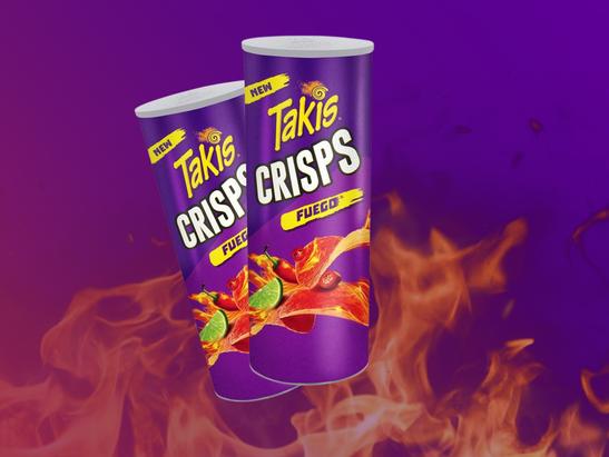 Takis Fuego Crisps Tortilla Chips Into Potato Like Pringles