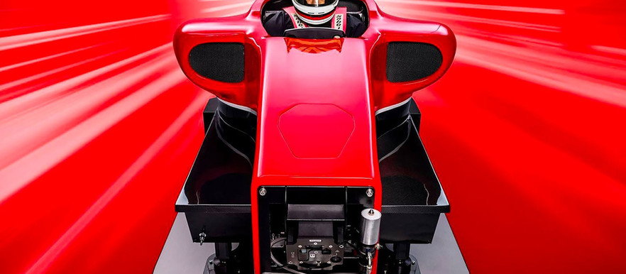 Cranfield's Full Motion + G-Force Rig Is the Ultimate Formula 1 Simulator