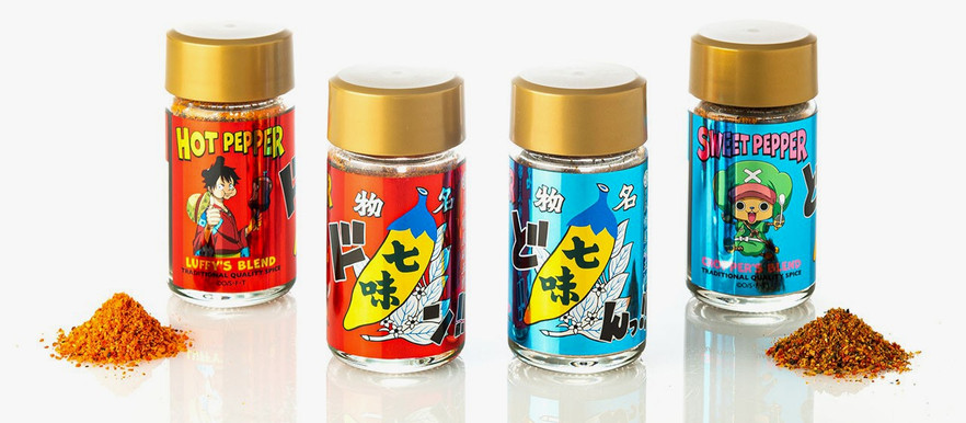 """One Piece Receives Special Edition """"Mugiwara Nanami"""" Chili Spice Inspired by Luffy and Chopper"""