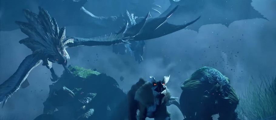 Cool Monster Hunter Rise Reveals At The Game Awards 2020