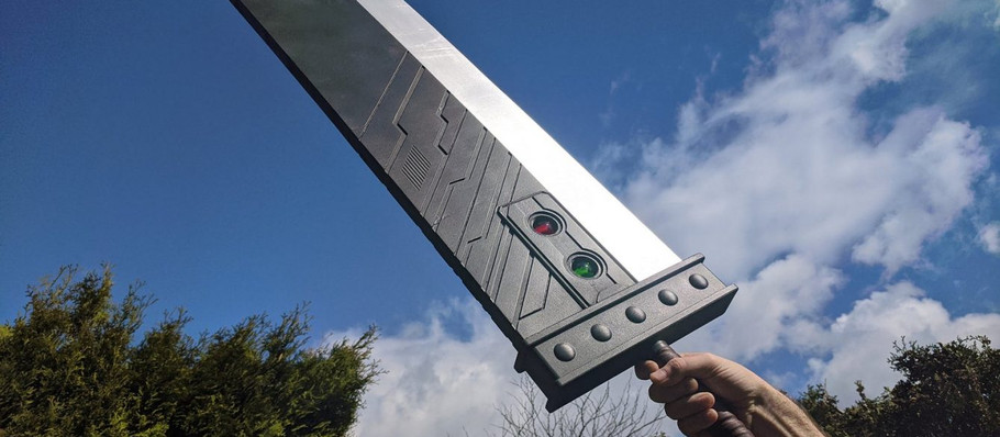 There is a 3D-Printed Buster Swords You Can Buy Now