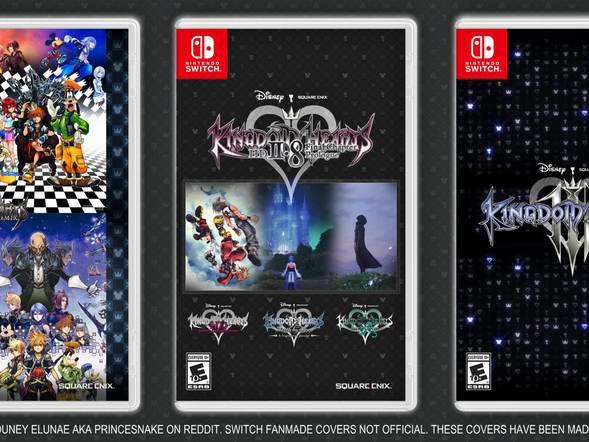 The 'Kingdom Hearts' Trilogy Is Coming to the Nintendo Switch