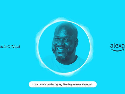 Amazon Brings Shaq Into Your Home With Alexa