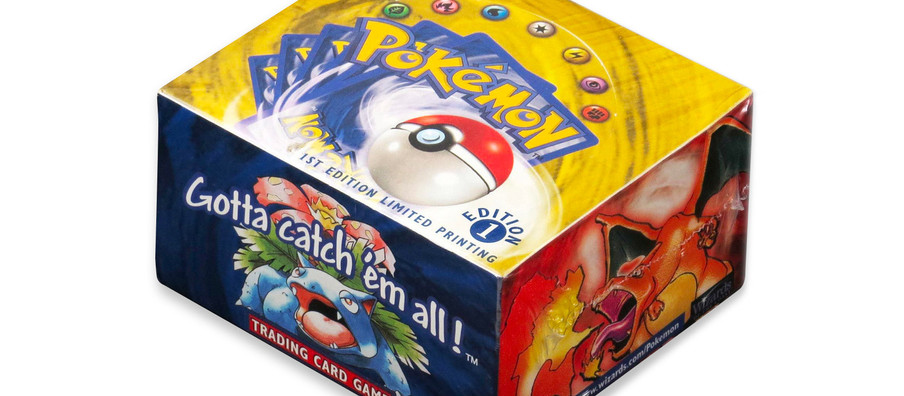 Another Unopened Box of 'Pokémon' Cards from 1999 Is up for Auction
