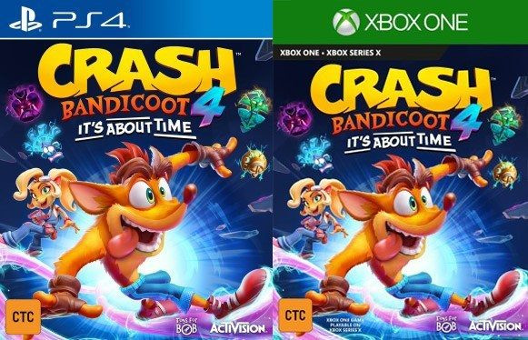 Crash Bandicoot 4 It's About Time Leaked