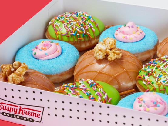 Gamer Eats: Krispy Kreme Carnival Treats New Summer Release