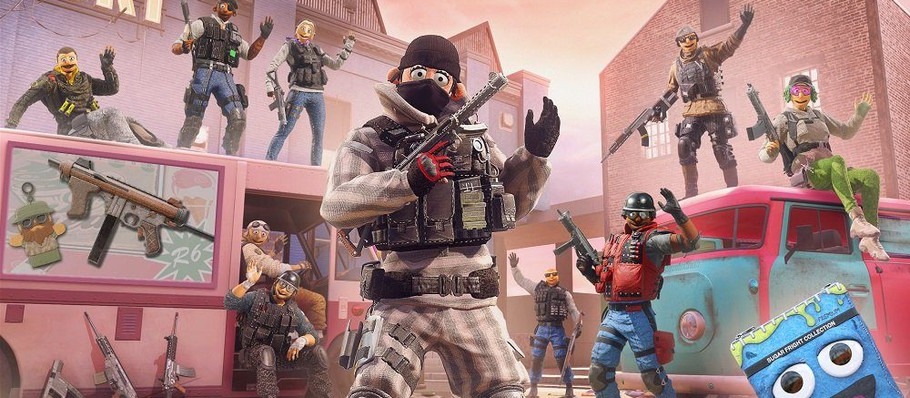 Rainbow Six Siege Halloween Event Turns Your Squad Into Murder Puppets