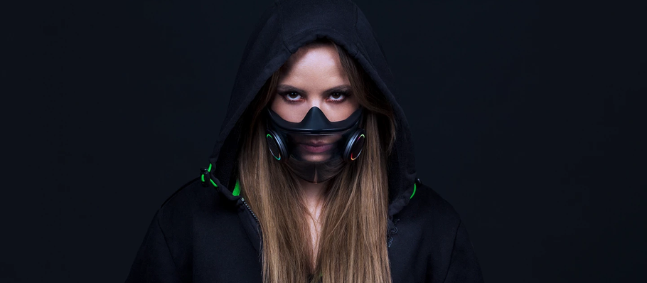 First Look at Razer Smart Mask: Project Hazel