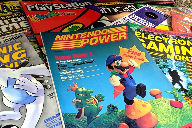 The Video Game History Foundation Will Send You Mystery Packs of Vintage Gaming Magazines
