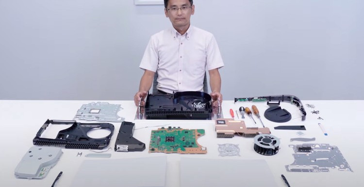 Sony Offers a Look Inside Its Upcoming PlayStation 5 in New Teardown Video