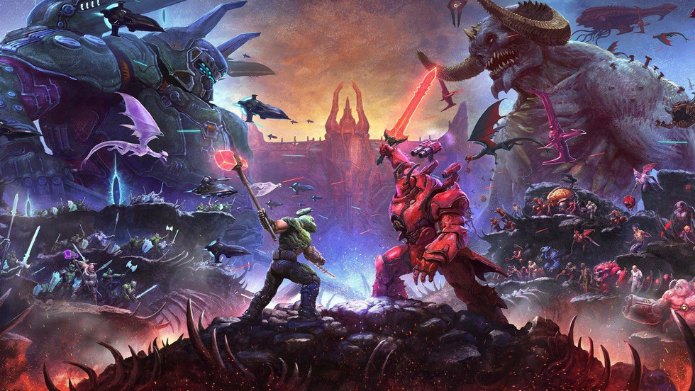 DOOM Eternal PS5 Version Available to Download Now