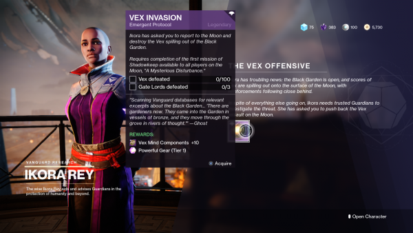 Destiny 2: Shadowkeep – How to complete the Eyes on the Moon quest and unlock the Vex Offensive