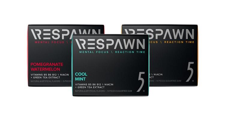 Razer RESPAWN Creates Performance-Enhancing 5 Gum for Gamers