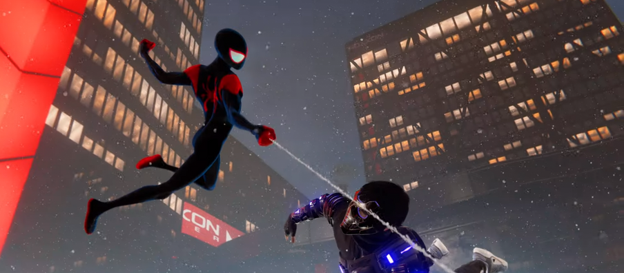 Spider-Man: Miles Morales Gets Awesome Into the Spider-Verse Suit